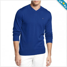 100% AUTENTIC -PROMOTIE SARBATORI Bluza, Pulover TOMMY HILFIGER ORIGINAL - Bluza barbati Tommy Hilfiger, Bumbac