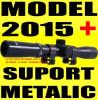 LUNETA METALICA 4X20 pentru Arma Pusca Airsoft cu Aer Comprimat Arbaleta