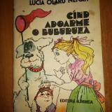 """Carte pt copii """" cand adoarme o buburuza """" 1985 - Carte educativa"""