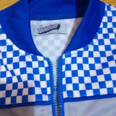 Bluza trening TopMan (casual) - Bluza barbati Top Man, Marime: S, Culoare: Albastru, Cu fermoar, Poliester