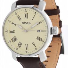 Ceas Barbatesc fossil, Elegant, Quartz, Inox, Piele, 50 m / 5 ATM - Ceas Fossil BQ1016 nou original in cutie