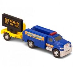 Masinuta de jucarie - Masina de Interventie cu Avertizor Detour
