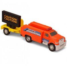 Masinuta de jucarie - Masina de Interventie cu Avertizor Caution