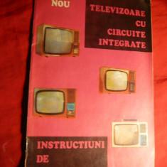 Instructiuni folosire Televizor Circuite integrate - Pliant Meniu Reclama tiparita