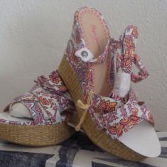 Sandale dama Pepe Jeans, Marime: 37, Culoare: Din imagine, Textil