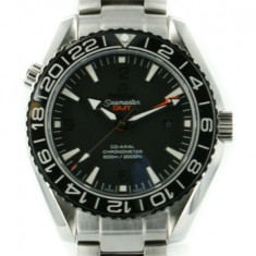 Ceas OMEGA SEAMASTER PLANET OCEAN 600 M CO-AXIAL GMT 43.5MM BLK - Ceas barbatesc Omega, Inox