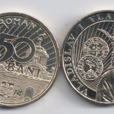 Monede Romania, An: 2014, Alama - ROMANIA 50 BANI 2014 Vladislav Vlaicu, UNC, necirculata, livrare in cartonas
