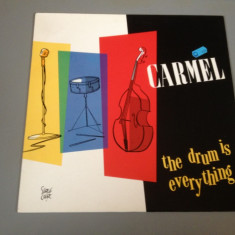 CARMEL - THE DRUM IS EVERYTHING (1984/ METRONOME REC/ RFG ) - DISC VINIL/VINYL - Muzica Rock capitol records