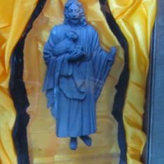 Icoana rasina si cristal, Issus cu mielul - Icoana cu foita de aur