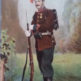 Carte Postala, Necirculata, Printata - Salutari din Armata Romana - Artilerie - Necirculata
