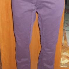 NOU Pantaloni lungi drepti tip blugi mov RIVER ISLAND W 30 L 32 - Blugi dama Vero Moda, Normal, Normala