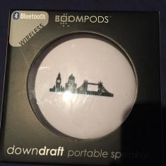 Boxa wireless - bluetooth Boompods Downdraft noua Sigilata, cu garantie