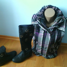 Vesta dama - SUPER OFERTA!!vesta moderna si cizme perforate de primavara!