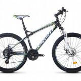 Bicicleta MTB Hardtail Sprint GTS 2.0 Aluminiu Negru - Alb - Verde 21V SPRINT