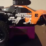 Masinuta de jucarie - Automodel HPI Firestorm Nitro Motor G3.0 ( Masinuta pe benzina cu telecomanda )