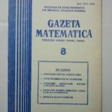 GAZETA DE MATEMATICA - LOT ANUL 1981 NUMERELELE 8 + 9 + 10 + 11 + 12 - Culegere Matematica