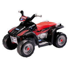 Masinuta electrica copii Peg Perego - ATV Polaris Sportman 400 Black