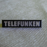 Emblema amplificator TELEFUNKEN 3, 6cm - Amplificator audio