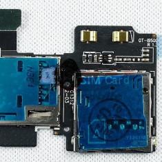 Piese GSM - Banda Cititor SIM si card MicroSD Samsung I9500/I9505 Galaxy S4 Original