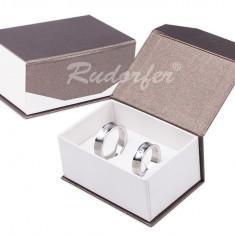 Cutie Bijuterii - Cutie pentru Verighete cu Inchizatoare Magnetica AMB-042