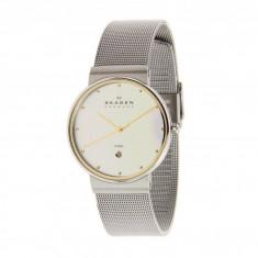 Ceas Skagen 355LGSC Two-Tone Mesh Band Watch | 100% originali, import SUA, 10 zile lucratoare - Ceas barbatesc