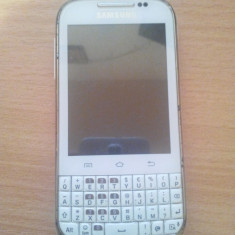 Samsung Galaxy Chat B5330 - Telefon Samsung, Alb, 4GB, Neblocat, Single SIM, Single core