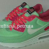 ADIDASI NIKE AIR MAX 90 HYPERFUSE model nou verde roz