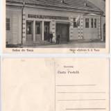 Teaca (Bistrita) - Banca Ajutorul S.A. ilustrata ca.1920