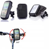 Suport bicicleta impermeabil waterproof HTC ONE M8 + folie ecran