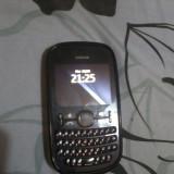 Telefon Nokia, Negru, Nu se aplica, Neblocat, Dual SIM, Fara procesor - Nokia Asha 200 dual sim negru