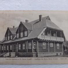 Comandou.Casa de vanatoare a baronului Groedel.Circulata la 1933.Reducere! - Carte Postala Transilvania dupa 1918, Fotografie, Comandau