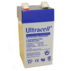 Acumulator stationar Ultracell 4V 4.5Ah - UPS