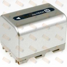 Acumulator compatibil Sony model NP-FM30 3400mAh argintiu - Baterie Camera Video