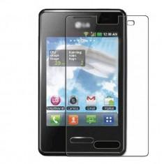 Folie de protectie LG, Lucioasa - Folie LG Optimus L3 II E430 E425 Transparenta
