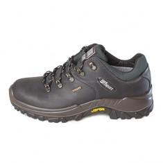 Pantofi Grisport pentru femei din piele naturala (GR10309109-W) - Bocanci dama Grisport, Marime: 36, 37, 38, 39, Culoare: Negru