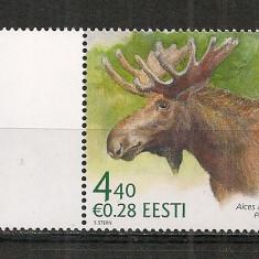 Timbre straine, Nestampilat - Estonia.2006 Animale salbatice HE.197