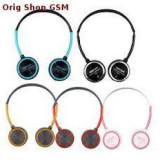 Casti Telefon, Negru, Pe ureche, Comenzi pe fir - Astrum Headset cu Microfon HS-221 Albastru/Negru Blister