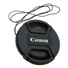 Capac Obiectiv Foto - Capac obiectiv 55mm pentru obiective Canon