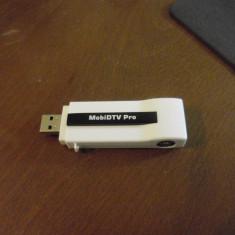 TV-Tuner PC, DVB-T, USB, Extern (necesita PC) - STICK USB DVB-T RTL2832U V-Gear MobiDTV USB