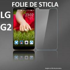 FOLIE STICLA securizata LG G2, 0.33mm, 2.5D, 9H tempered glass antisoc PROTECTIE - Folie de protectie LG, Anti zgariere