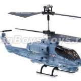Elicopter US Marine Corps Apache cu Gyro, 3 canale, de interior Syma S108G