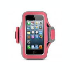 HUSA IPHONE 5 BELKIN ARMBAND PINK/PURPLE - Husa Telefon Belkin, iPhone 5/5S/SE