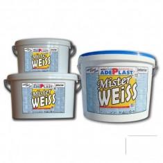 Vopsea alba pentru interior Mister Weiss - 15 L