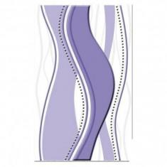 Faianta decorativa Cesarom Onda violet - 40 x 25 cm
