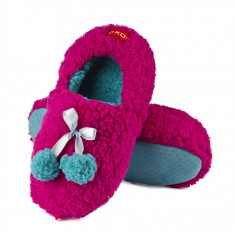 Papuci dama - Papuci de casa - art 63706 - roz