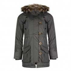Parka / pardesiu fete 9-13 ani, marca Minx Clothing (UK), khaki