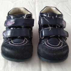 Adidasi copii, Fete, Piele naturala - Adidasi fetite primii pasi din piele CHICCO marimea 19