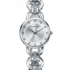 Ceas dama, Fashion, Quartz, Inox, Inox, Analog - Ceas Viceroy dama cod 461004-87 - pret 569 lei (marca spaniola; original)