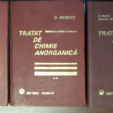 Tratat de chimie anorganica, 3 vol - D. Negoiu, P. Spacu (1972, 1978)
