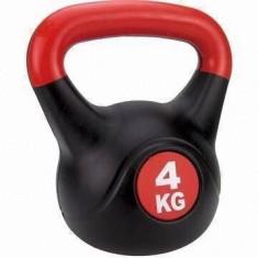 Gantere cu maner Kettle Ball 2 kg cauciucate